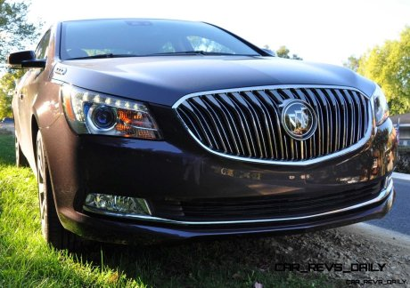 Driven Car Review - 2014 Buick LaCrosse Is Huge, Smooth and Silent37