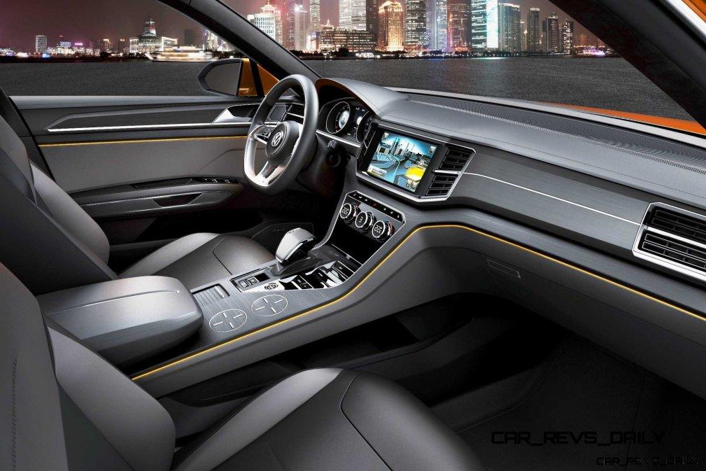 Hottest LA Debuts VW CrossBlue Coupe - Concept (2)