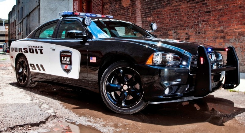 Dodge Police Charger 2015 Console