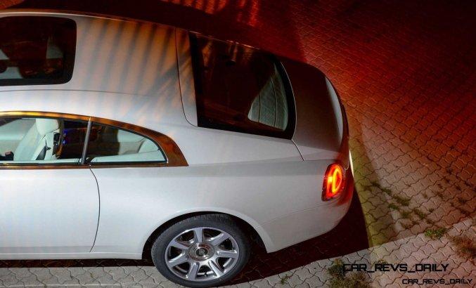 RR Wraith Carrara White Color Showcase CarRevsDaily21