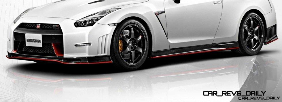 12 2014 Nissan GT-R NISMO Brings FutureTech and 600 Horsepower