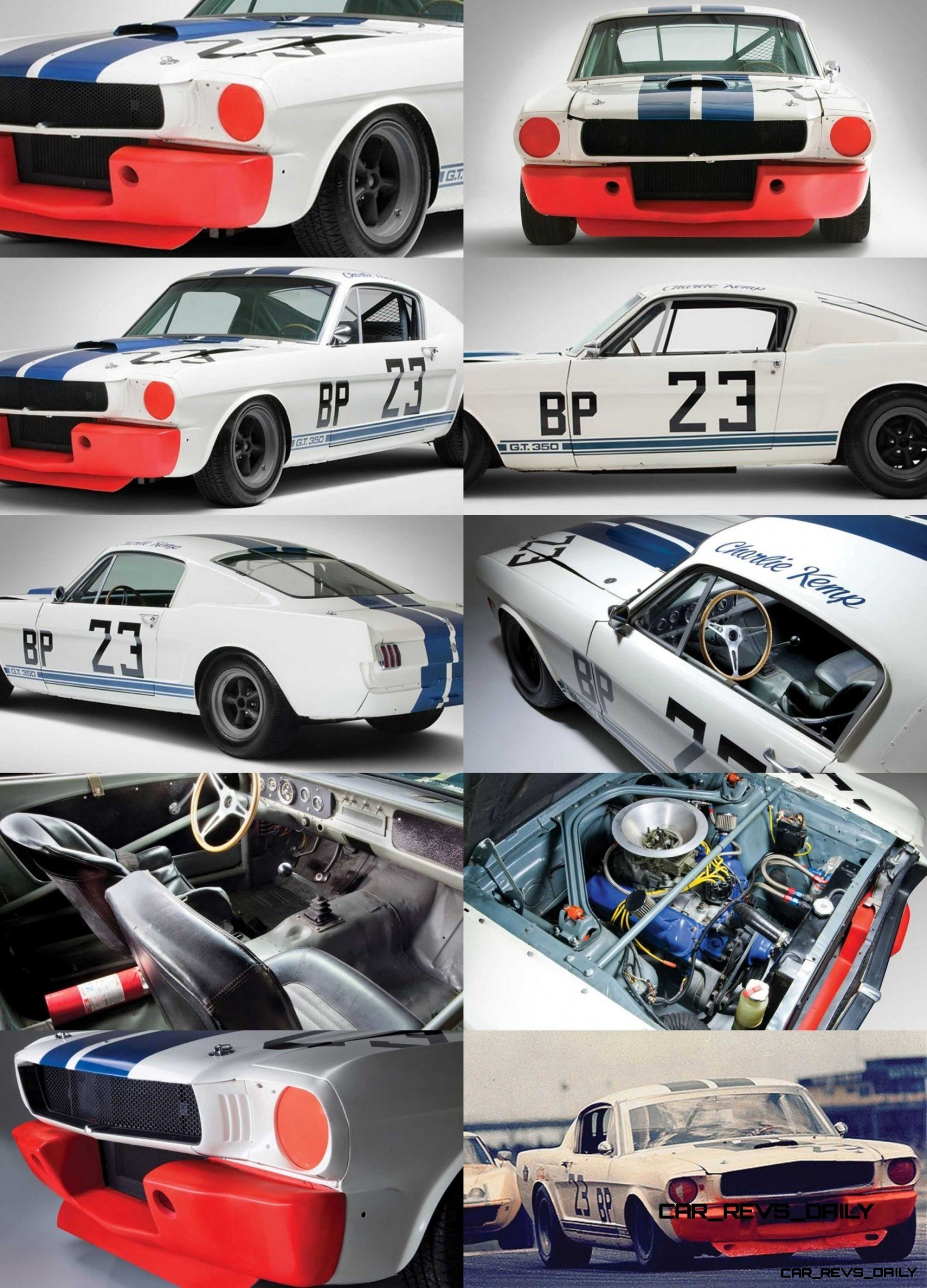 1965 Shelby Mustang GT350R - RM Amelia2014 - 28