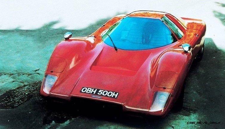 1969 McLaren M6GT - Specs vs F1 and P1 - Photo 57