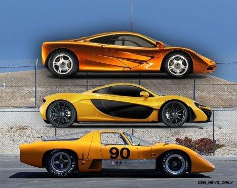 1969 McLaren M6GT - Specs vs F1 and P1 - Photo 67