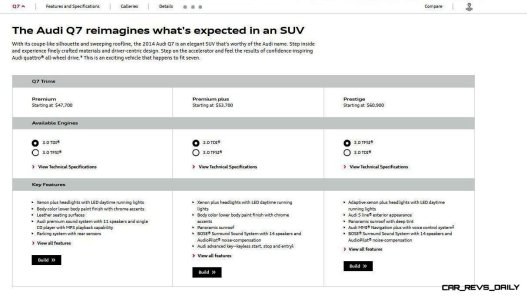 2014 Audi Q7 - Specifications 9