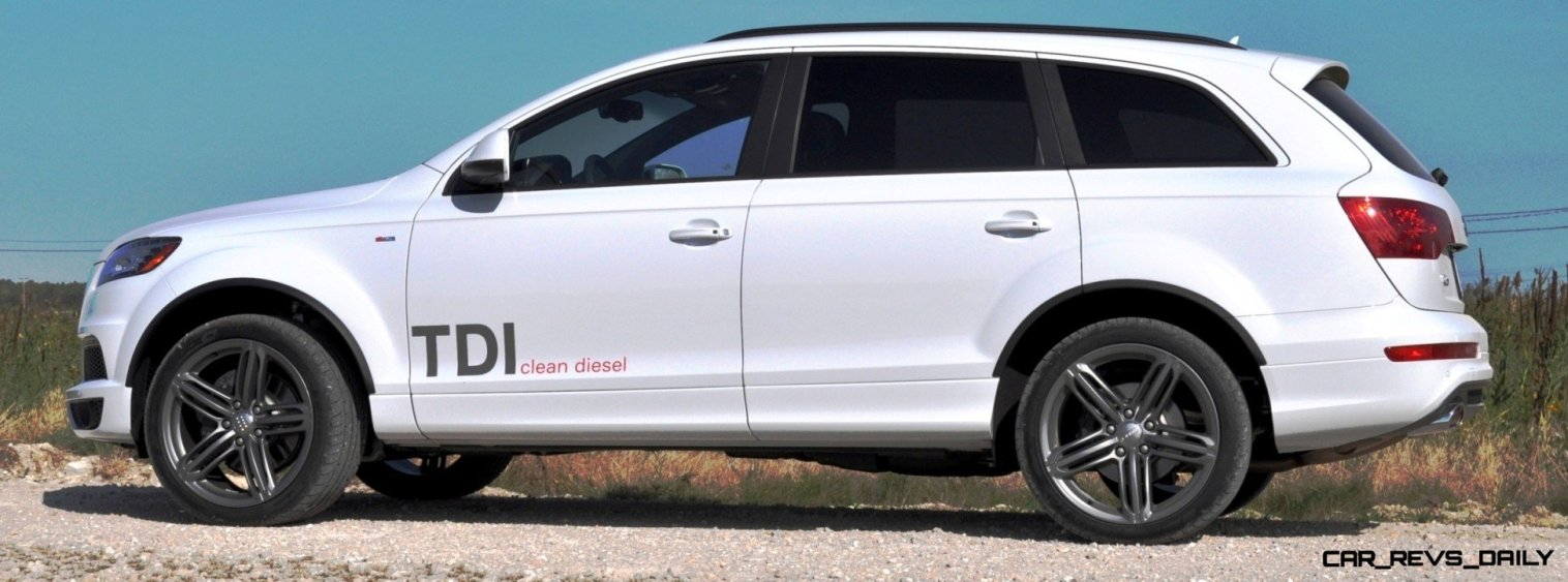 2014 Audi Q7 TDI S-line Plus - Carrara White 1