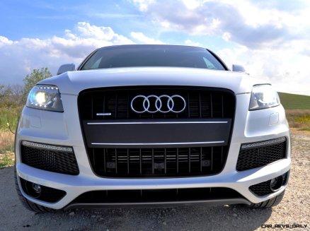 2014 Audi Q7 TDI S-line Plus - Carrara White 19