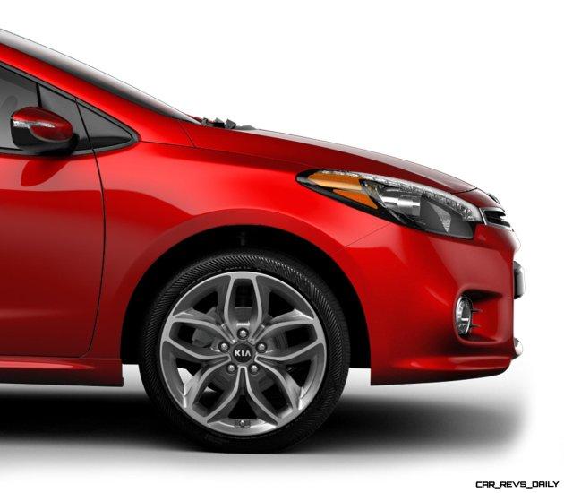 2014 Kia Forte Koup Adds First Turbo Option to Slinky 2-Door Shape 22
