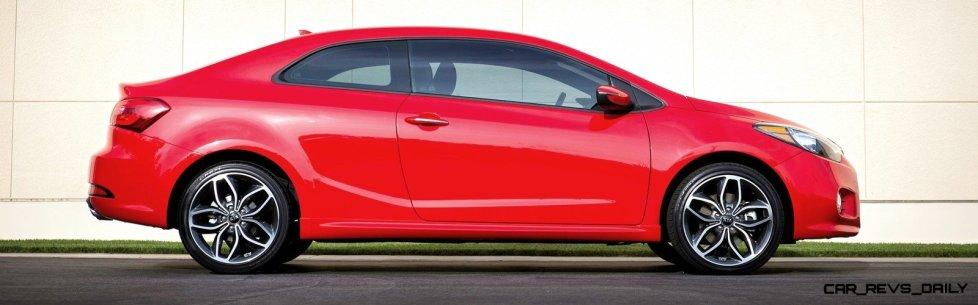 2014 Kia Forte Koup Adds First Turbo Option to Slinky 2-Door Shape 8