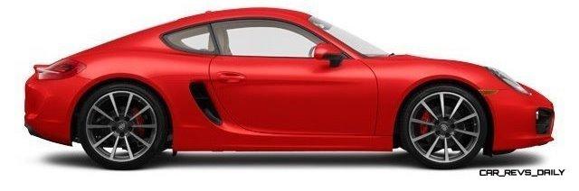 2014 Porsche Cayman S - COLORS 15