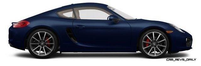 2014 Porsche Cayman S - COLORS 17