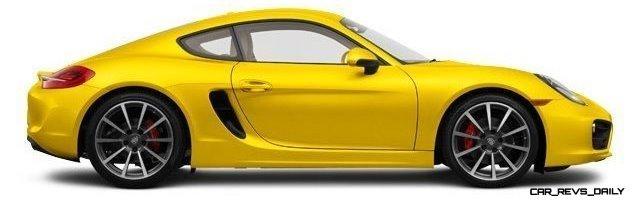2014 Porsche Cayman S - COLORS 18
