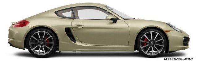 2014 Porsche Cayman S - COLORS 19
