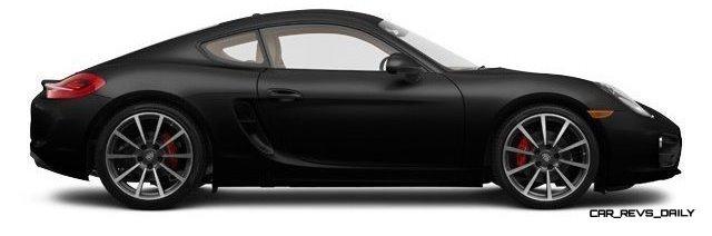 2014 Porsche Cayman S - COLORS 24
