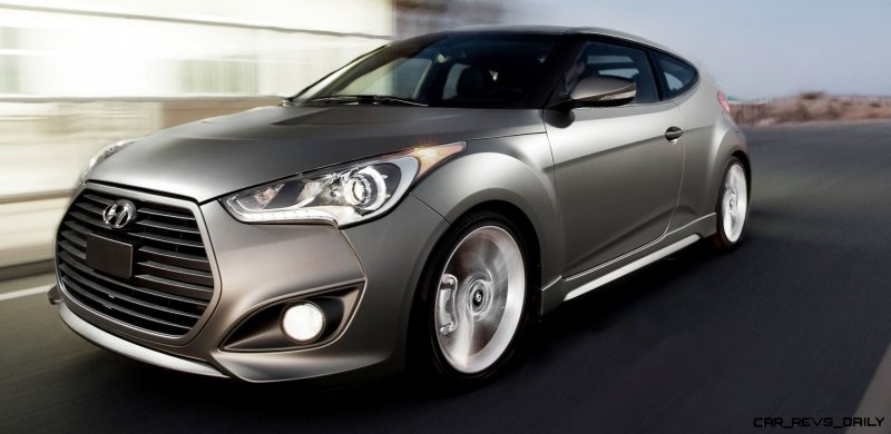 2014 Veloster R-Spec New for 2014 with Nurburgring Chassis Tech 3