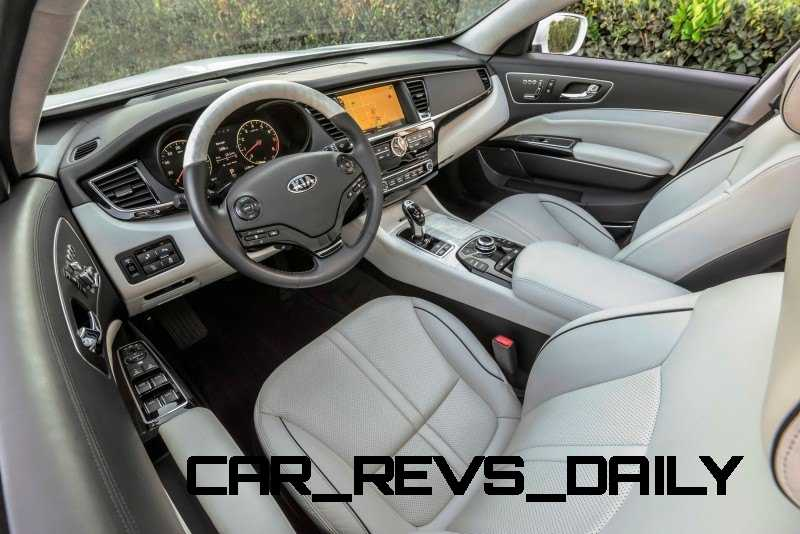 2015 K900 Kia New RWD Flagship 1