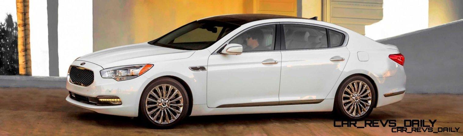 2015 K900 Kia New RWD Flagship 18