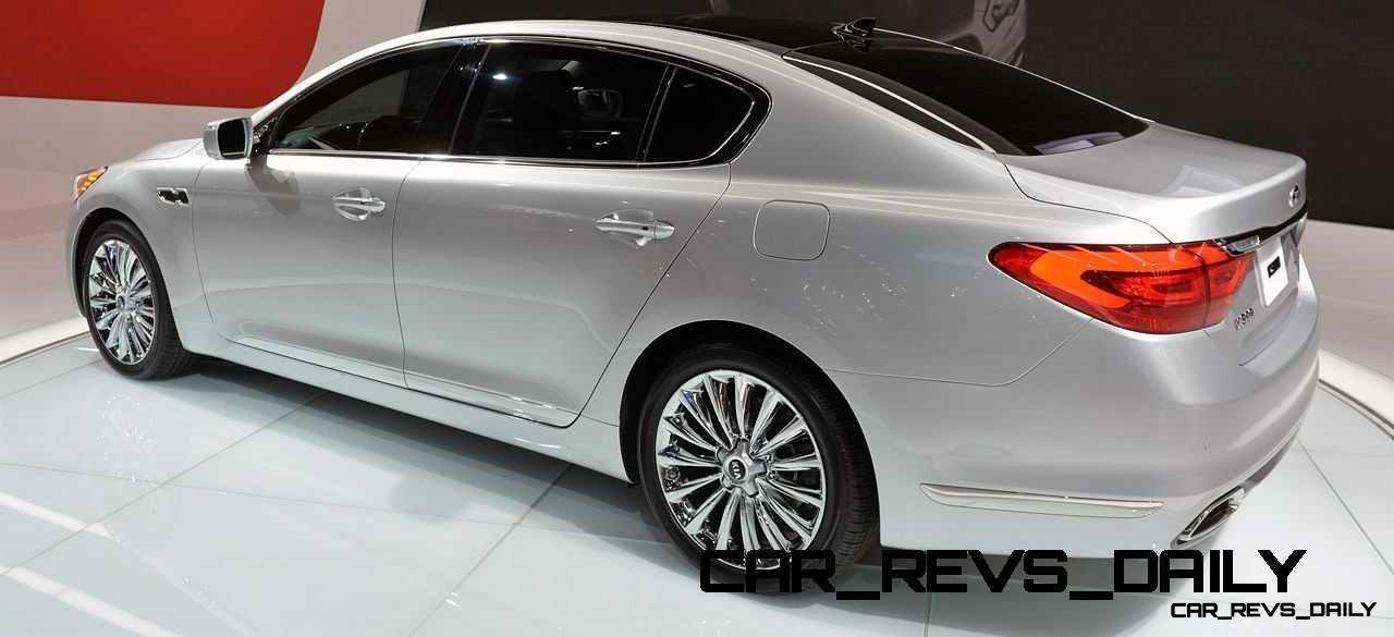 2015 K900 Kia New RWD Flagship 24