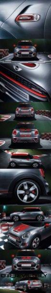 2015 MINI Cooper JCW Concept Brushed-Alloy Paints Hot Bod 15-vert