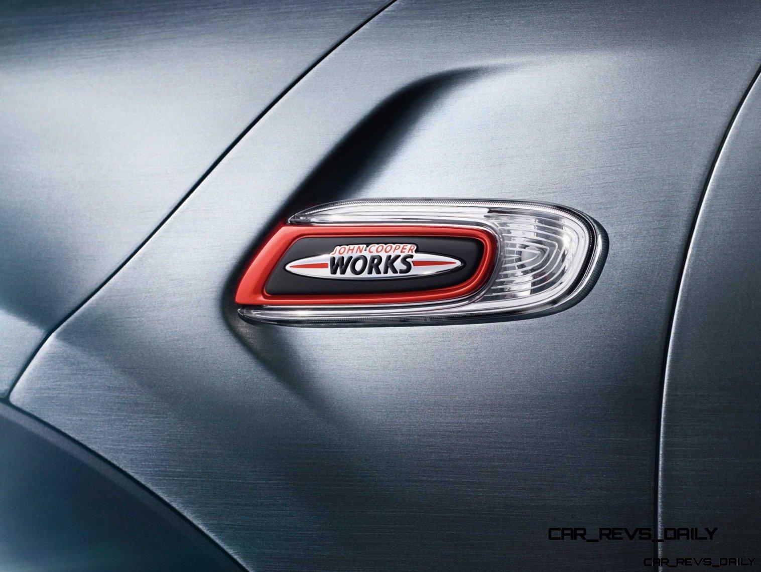 2015 MINI Cooper JCW Concept Brushed-Alloy Paints Hot Bod 15