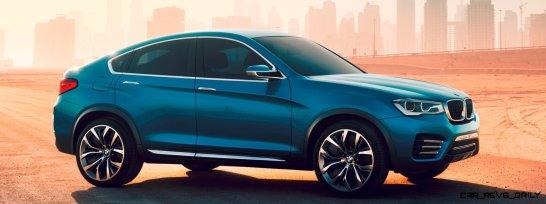 BMW X4 Teaser Shows LEDetails 12