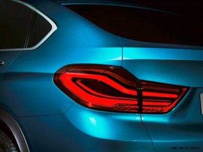 BMW X4 Teaser Shows LEDetails 3
