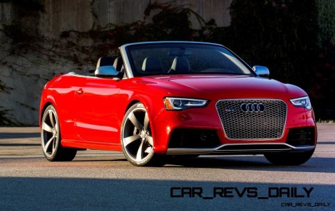 Buyers Guide to Audi RS5 Cabriolet for 2014 4