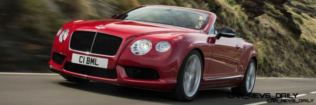 CarRevsDaily - 2014 Bentley Continental GTC V8 and V8 S 24