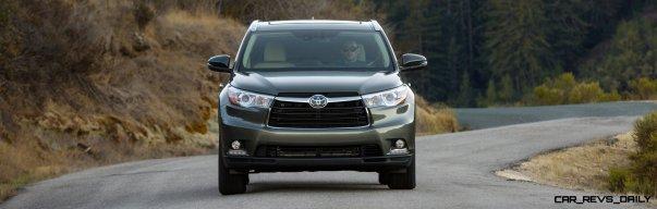 CarRevsDaily - 2014 Toyota Highlander Exterior Photo16