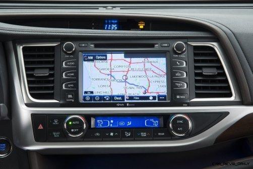 CarRevsDaily - 2014 Toyota Highlander Interior Photo2