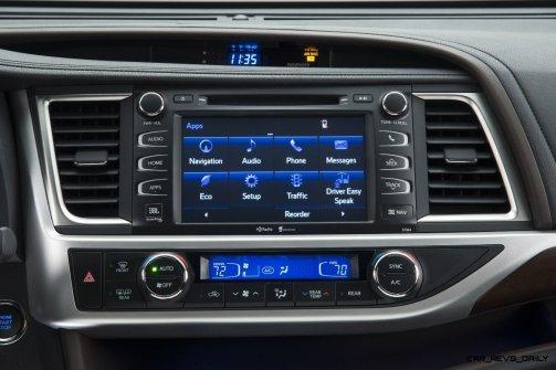 CarRevsDaily - 2014 Toyota Highlander Interior Photo4