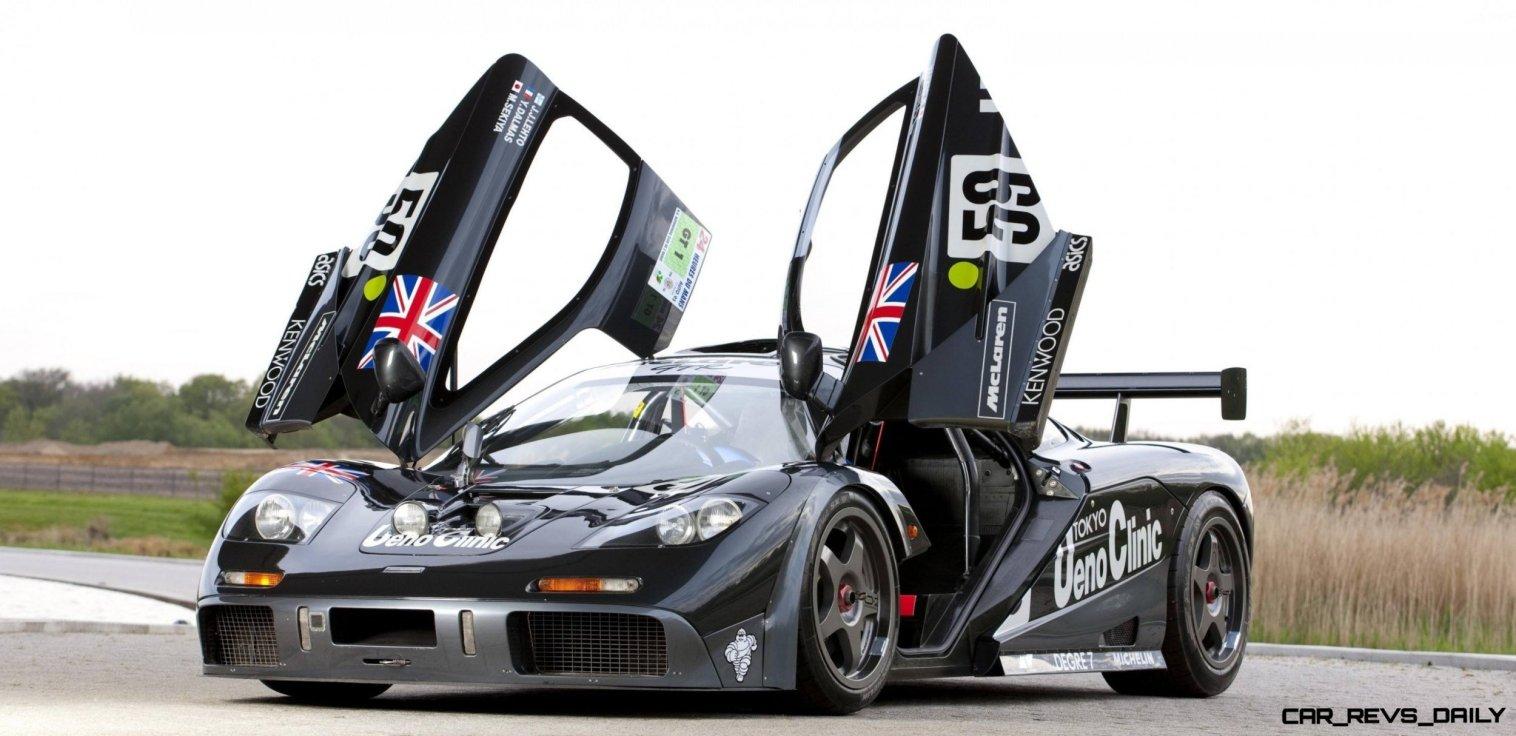 CarRevsDaily - Supercar Legends - McLaren F1 Wallpaper 22