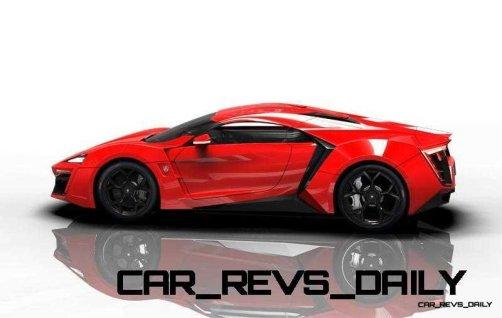 CarRevsDaily Supercars - 2014 W Motors Lykan Hypersport Colors 101