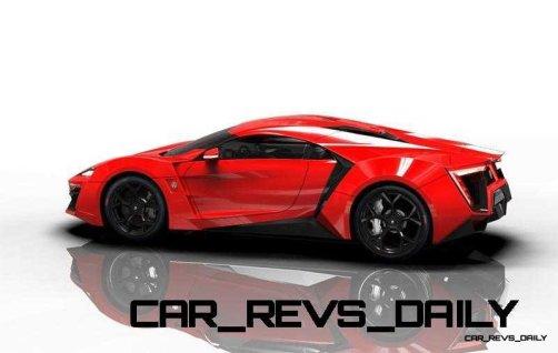 CarRevsDaily Supercars - 2014 W Motors Lykan Hypersport Colors 102