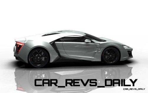 CarRevsDaily Supercars - 2014 W Motors Lykan Hypersport Colors 117