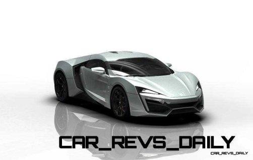 CarRevsDaily Supercars - 2014 W Motors Lykan Hypersport Colors 124