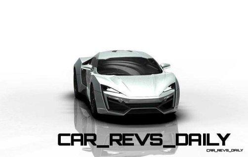 CarRevsDaily Supercars - 2014 W Motors Lykan Hypersport Colors 126