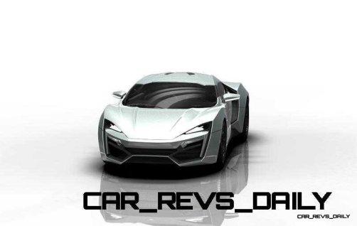 CarRevsDaily Supercars - 2014 W Motors Lykan Hypersport Colors 128
