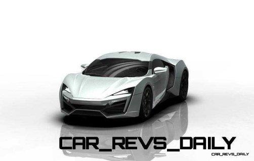 CarRevsDaily Supercars - 2014 W Motors Lykan Hypersport Colors 129