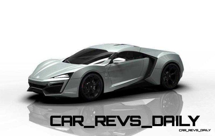 CarRevsDaily Supercars - 2014 W Motors Lykan Hypersport Colors 132