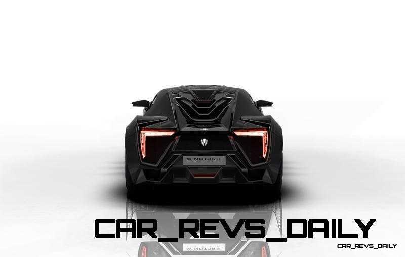 CarRevsDaily Supercars - 2014 W Motors Lykan Hypersport Colors 1