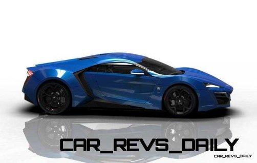 CarRevsDaily Supercars - 2014 W Motors Lykan Hypersport Colors 47