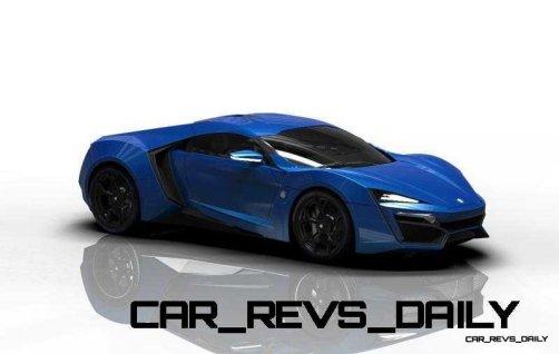 CarRevsDaily Supercars - 2014 W Motors Lykan Hypersport Colors 50