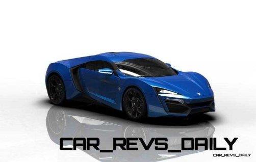 CarRevsDaily Supercars - 2014 W Motors Lykan Hypersport Colors 51