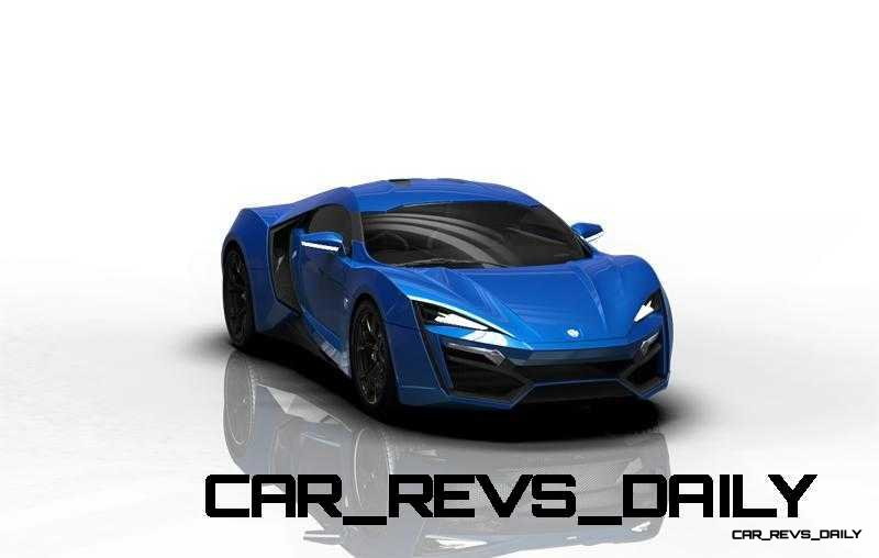 CarRevsDaily Supercars - 2014 W Motors Lykan Hypersport Colors 53