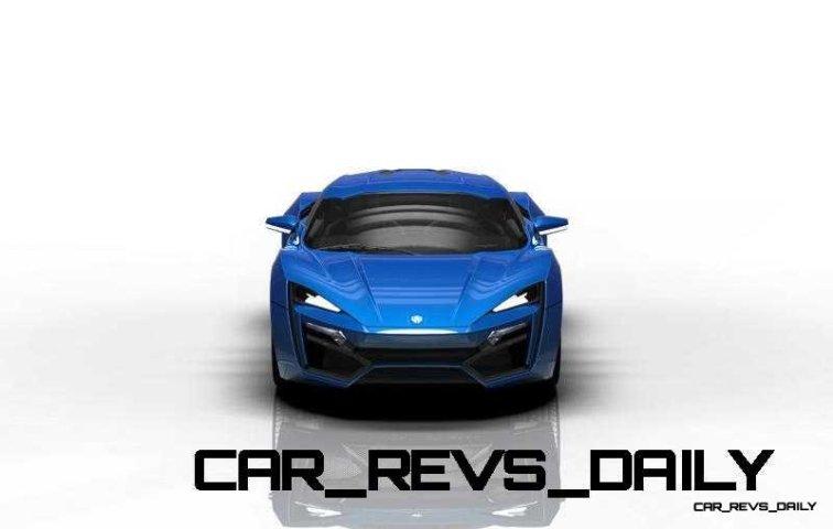 CarRevsDaily Supercars - 2014 W Motors Lykan Hypersport Colors 55