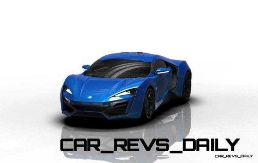 CarRevsDaily Supercars - 2014 W Motors Lykan Hypersport Colors 57