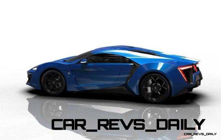 CarRevsDaily Supercars - 2014 W Motors Lykan Hypersport Colors 66