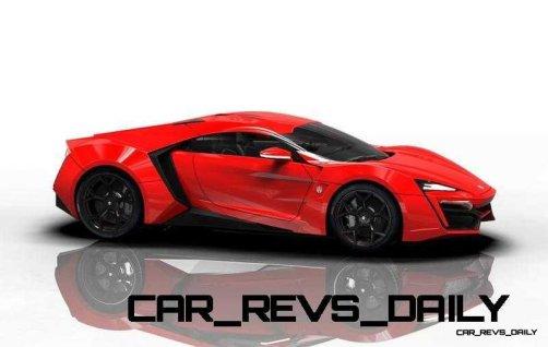 CarRevsDaily Supercars - 2014 W Motors Lykan Hypersport Colors 84