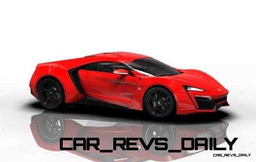 CarRevsDaily Supercars - 2014 W Motors Lykan Hypersport Colors 85